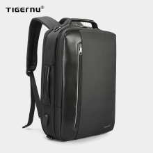 Tigernu 4 In 1 Multi Function Nylon Men's Business Backpack 15.6 Inch USB Charging Laptop Backpack Male Office Work Backpack Bag