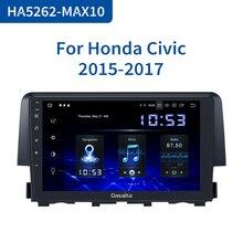 "Dasaita 9 ""HDMI רכב 1 Din רדיו אנדרואיד 10.0 עבור הונדה סיוויק 2015 2016 ניווט GPS סטריאו MAX10 DSP 64GB ROM"