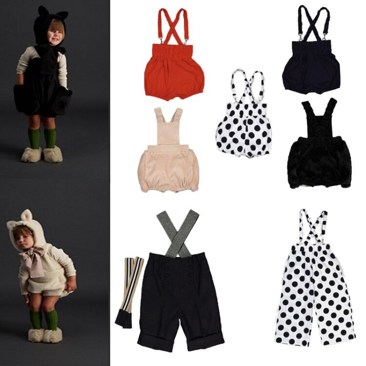 Jumpsuits Shorts for Girls Size 8 Carbon Soldier Brand Overalls for Kids Baby Girl Fall Clothes 2020 Toddler Boys Clothing Pants 1