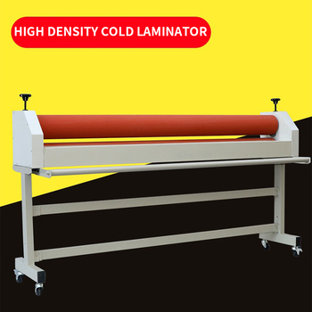 Manual 1600 cold laminator 1.6M laminating machine graphic photo film over film KT version photo album PVC