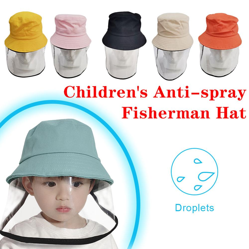1-10 Years visual protection Children Protective Mask anti foam hat Visor Protection Mask UV protection mask protective hat