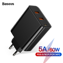 Baseus Quick Charge 4.0 3.0 Multi USB Charger For iPhone 11