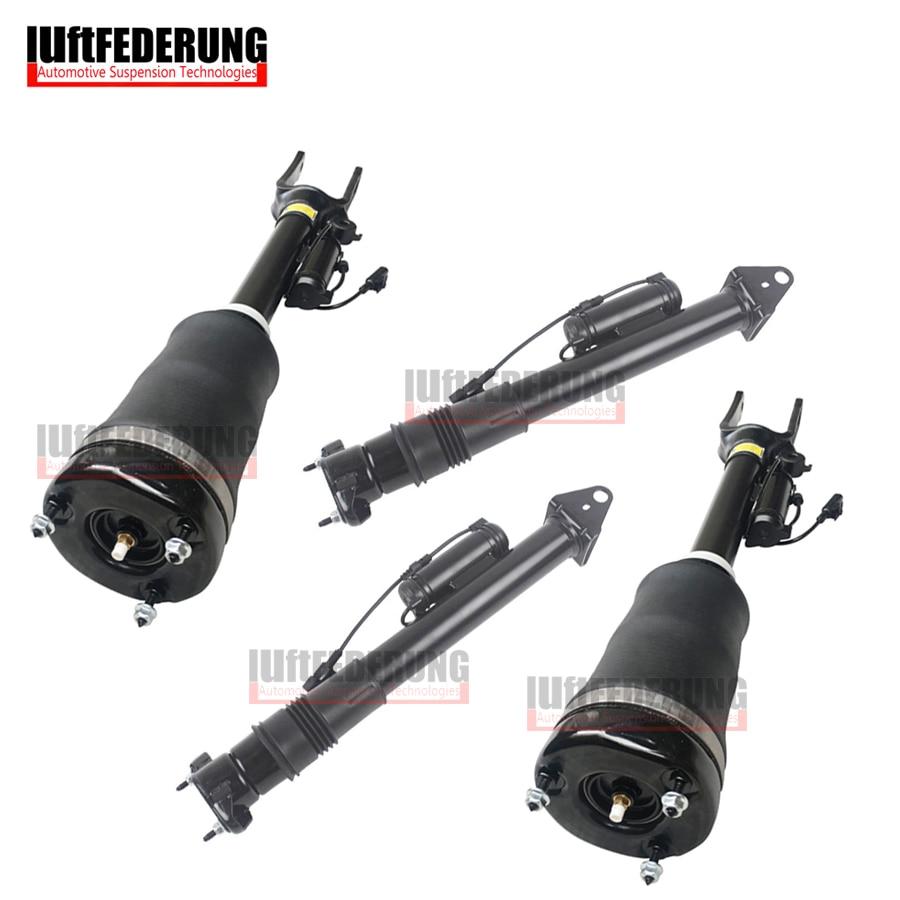 Luftfederung новая подвеска Пневматическая Пружина задний воздушный амортизатор передний амортизатор подходит для Mercedes W164 ADS Airmatic 1643206013 1643202031