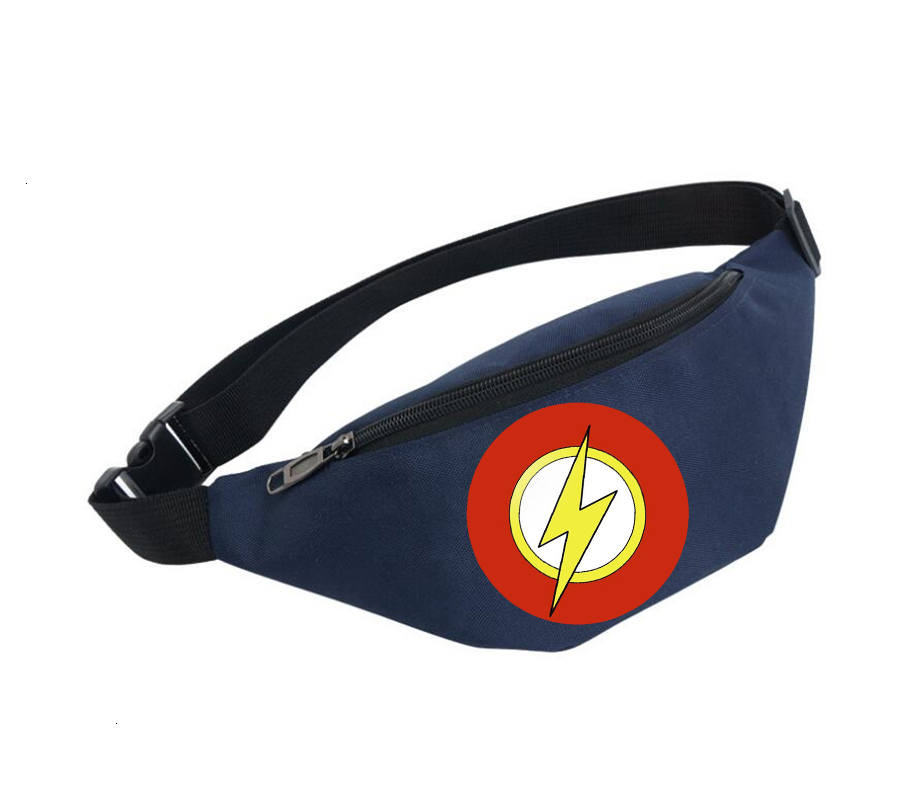 Waist Bag Women Belt Waterproof Chest Handbag Unisex Fanny Pack Ladies Waist Pack Belly Bags For Anime Super Hero