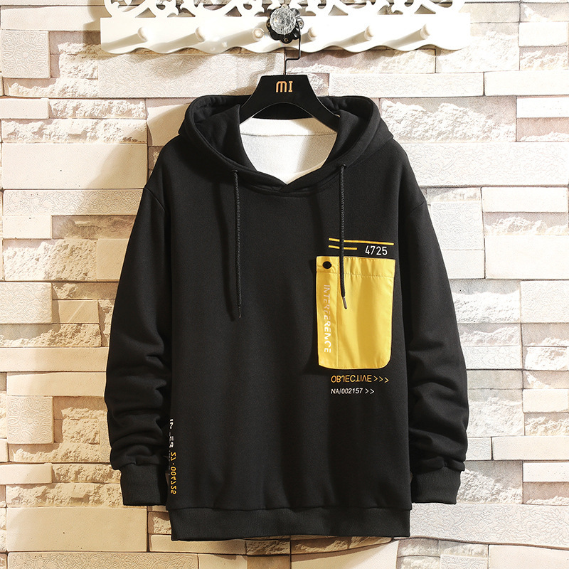 2019 spring and autumn new fashion design sweatshirt hooded pullover letter printing hoodies mens Clothes