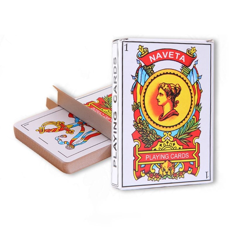 50pcs/set Spanish Playing Cards Magic Props Family Party Board Games Poker Card N58B