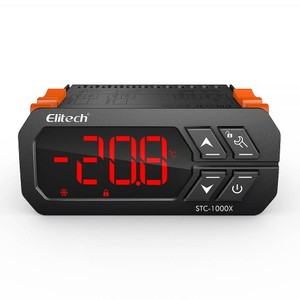 Nuevo modelo Elitech STC-1000X controlador de temperatura actualizado 220V termostato Digital