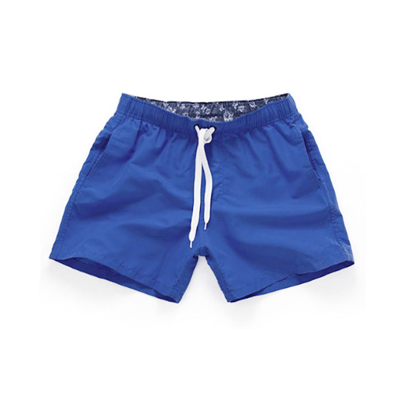 2019 Mens Swimwear Swim   Shorts   Beach   Board     Shorts   solid color Quick Drying Pants Swimming Pants Swimsuits Mens Running Sports