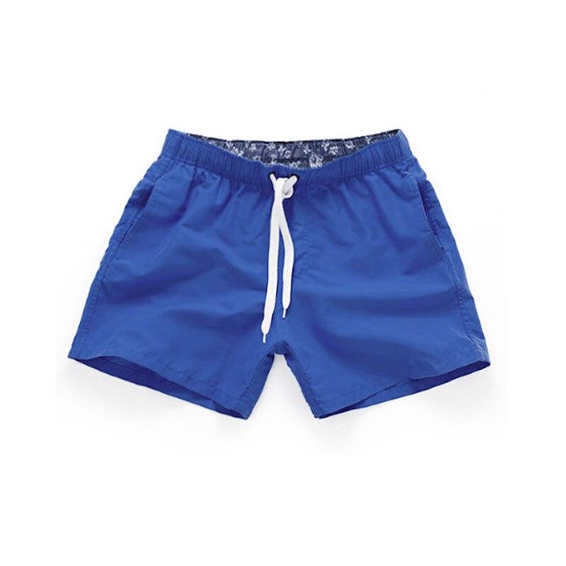 2019 Mens Swimwear Swim   Shorts   Beach   Board     Shorts   solid color Quick Drying Pants Swimming Pants Swimsuits Mens Running Sports