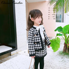 Комплект одежды для маленьких девочек Модный комплект из 2 предметов
