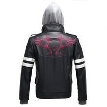 Hohe Qualität Neue Prototype Alex Mercer Cosplay Kostüm Gestickte Jacke PU Leder Mantel Halloween Kostüme für Frauen/Männer S 4XL