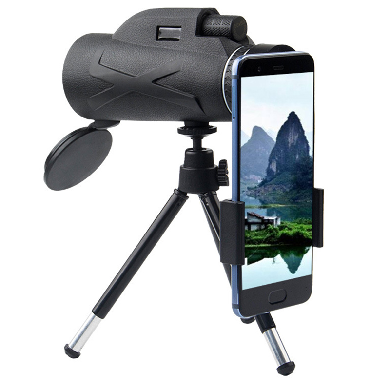 80X100 Zooms Monocular Portable Prism High-definition Optical  Mobile Phone Telescope  SAL99