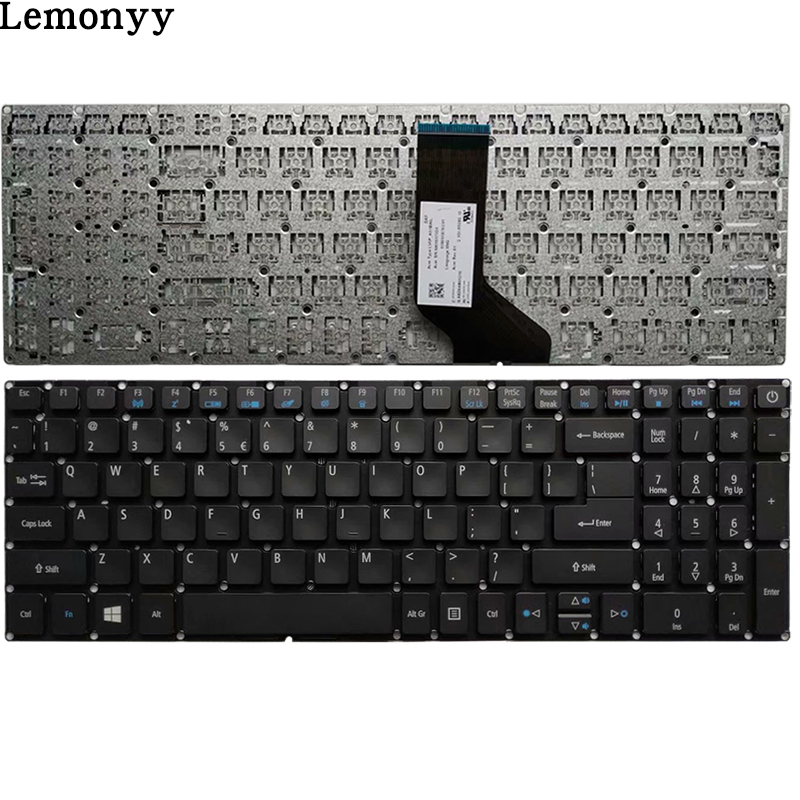 NEW US Laptop Keyboard For Acer Aspire E5-523 E5-523G E5-553 E5-553G E5-575 E5-575G E5-575T E5-575TG E5-774 E5-774G Keyboard