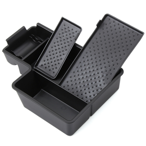 Image 5 - Newest Version Car Glove Box Armrest Box Secondary Storage For  Volkswagen VW MK6 Golf 6 GTI SCIROCCO car styling