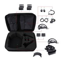 Hard Carrying Case Storage Bag Box for Index VR Gaming Headset Controller Kit
