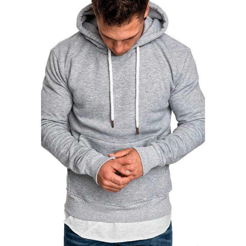Jodimitty 2020 새로운 가을 겨울 패션 솔리드 후드 남성 대형 따뜻한 양털 코트 남성 브랜드 캐주얼 셔츠 후드