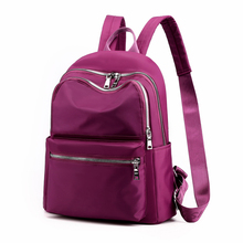 Elegant Female Oxford Bag New Type 2019 Shoulder Backpack Waterproof Shoulder Bag Women's Oxford Canvas School Bag Nylon Bag