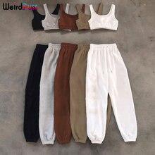 Conjuntos de 2 piezas de algodón para mujer, chándal informal, Camiseta deportiva sin mangas, pantalones cortos con cordón, elásticos, ropa de calle de verano