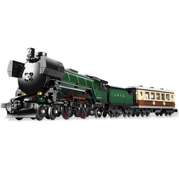 DHL IN Stock 21005 1085Pcs Emerald Night Train Set Model Building Blocks Bricks Educational Toys Gifts Compatible  10194 2