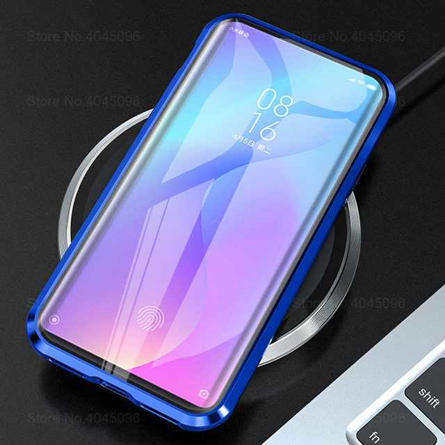360 Magnetic Phone Case For xiaomi mi 9t Double Sided Glass Cases On Xaomi 9t pro mi 9t 9tpro t9 t9pro mi9t Metal Cases Coque 5