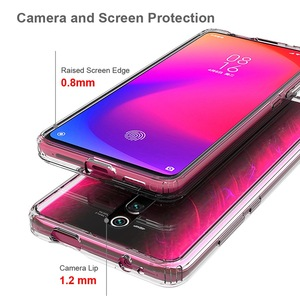"""Image 5 - רך הסיליקון TPU/מחשב מקרה עבור Xiaomi Redmi K20 פרו K20Pro K 20 6.39 """"Fundas Coque עמיד הלם קריסטל ברור מעטפת קשיח חזרה כיסוי"""