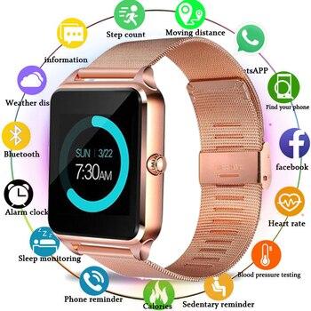2020 Z60 Smart Watch With Sim Card Bluetooth SmartWatch relogio inteligente Smartwatch GT08 Plus reloj inteligente PK GT08 Band