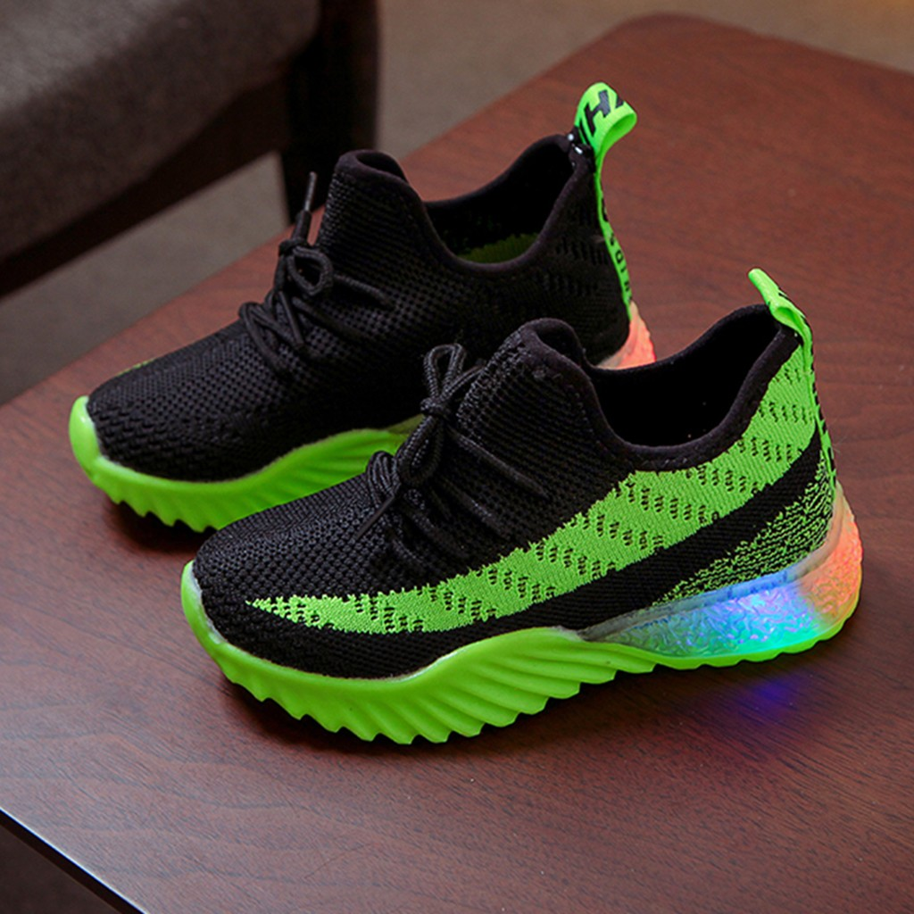LED Comfort Cool Run Sport Sneakers 4