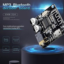 VHM-314 Bluetooth o Receiver Board Bluetooth 5.0 Mp3 Lossless Decoder Board Wireless Stereo Music Module 10Pcs(China)