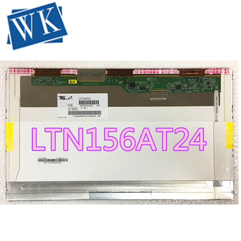 Free Shipping 15.6 LED SCREEN LTN156AT05  LTN156AT02 LTN156AT24 LTN156AT32 LP156WH4 B156XW02  LP156WH2 TLA1 N156BGE-L21 N156B6
