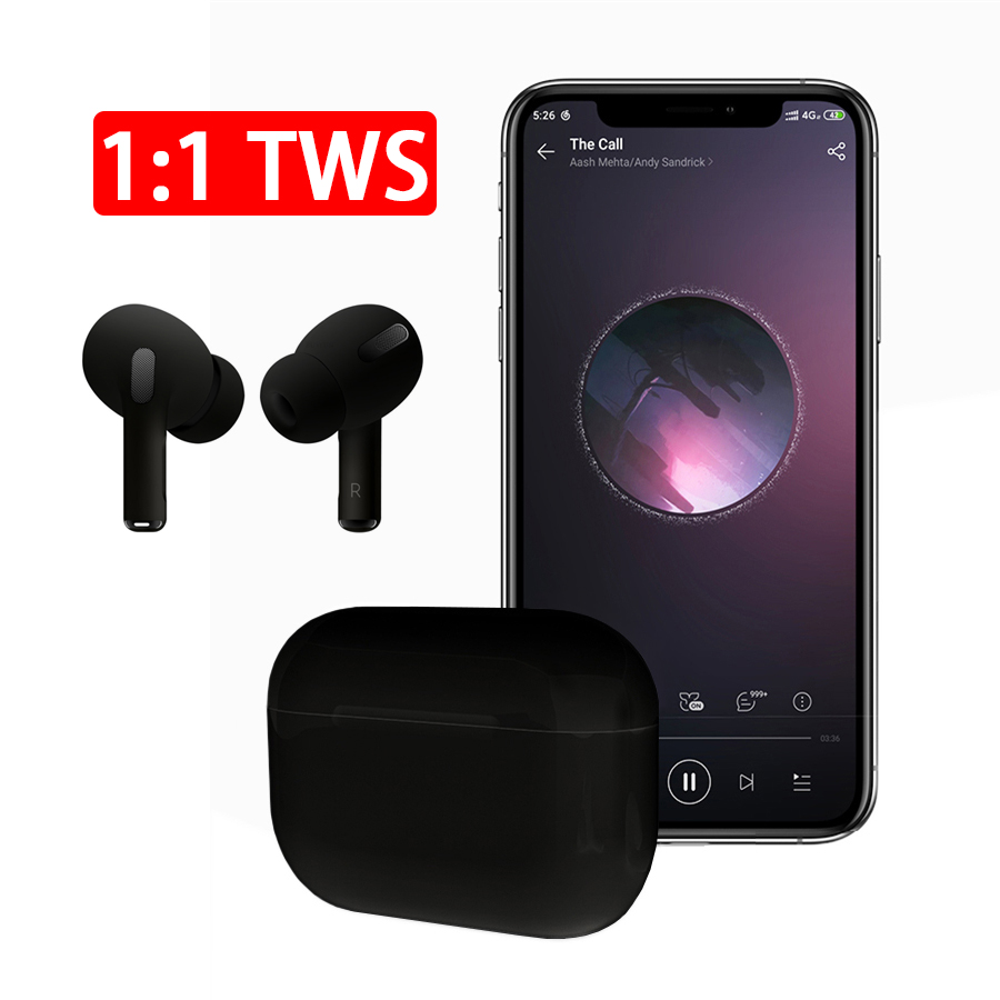 I200000 TWS Earphones <font><b>Airpodeing</b></font> Pro Qi Wireless Headphones <font><b>Pop</b></font> <font><b>up</b></font> Hifi Stereo Earbuds Headsets Touch Control for iPhone phone image
