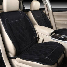 1 seat Winter Faux Fur Front Car Seat Cover Warm Short Plush Cushion Protector Pad Mat for Auto Supplies General Fit Most