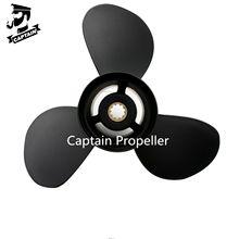 Подвесные двигатели Captain Propeller 9,9x14 Fit Tohatsu mmfs25b MFS30B, алюминиевый 10-зубчатый шпайн RH 349B64529-1