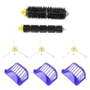 FILTER Vacuum-Cleaner Glue-Brush Part Circular-Rolling-Brush Irobot Roomba