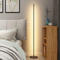 Lampada da terra moderna a LED camera da letto comodino decorazione lampada da terra Living Rom Art Decor illuminazione da interno per interni in piedi