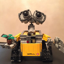 цена на New 2020 Star Series Wars 16003 The Robot WALL E 21303 687Pcs Ideas Model Building Kits Blocks Bricks Education Toys Christmas