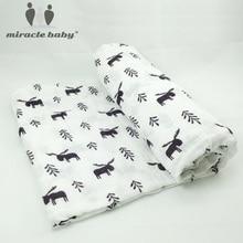 Cotton Baby Blanket Bedding Covers Aden Anais Muslin Swaddle Boys Girls Manta Bebes Photo Prop