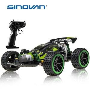 Sinovan RC Car 20km/h High Speed Car Radio Controled Machine Remote Control Car Toys For Children Kids RC Drift wltoys(China)