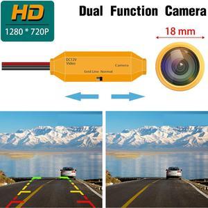Image 5 - Câmera de visão traseira para kia sorento naza sorento bl xm 2003 2011 1280, câmera de visão noturna câmera de backup hd 720 x p câmera dourada