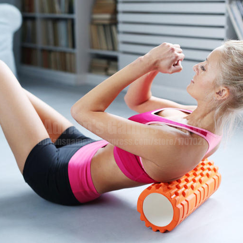 Massage Foam Rollers EVA Yoga Roller Yogic Training Foam Cylinder After Exercise Soothing Muscles Fitness