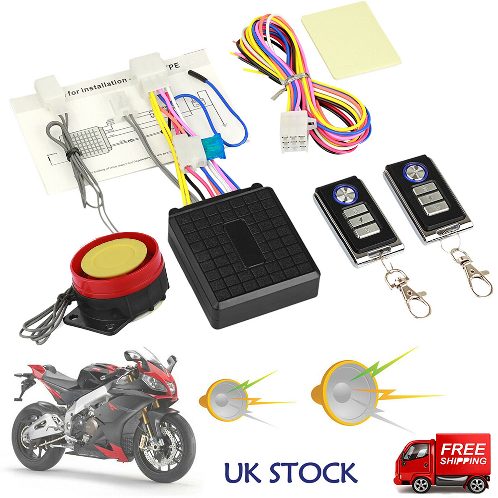 Electric car Anti-Theft Security Alarm Motorcycle Anti-Theft Remote Control Free Wiring