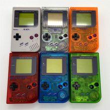 Console remodelado para nintendo gameboy dmg gb, console de máquinas recreativas, jogo de palma