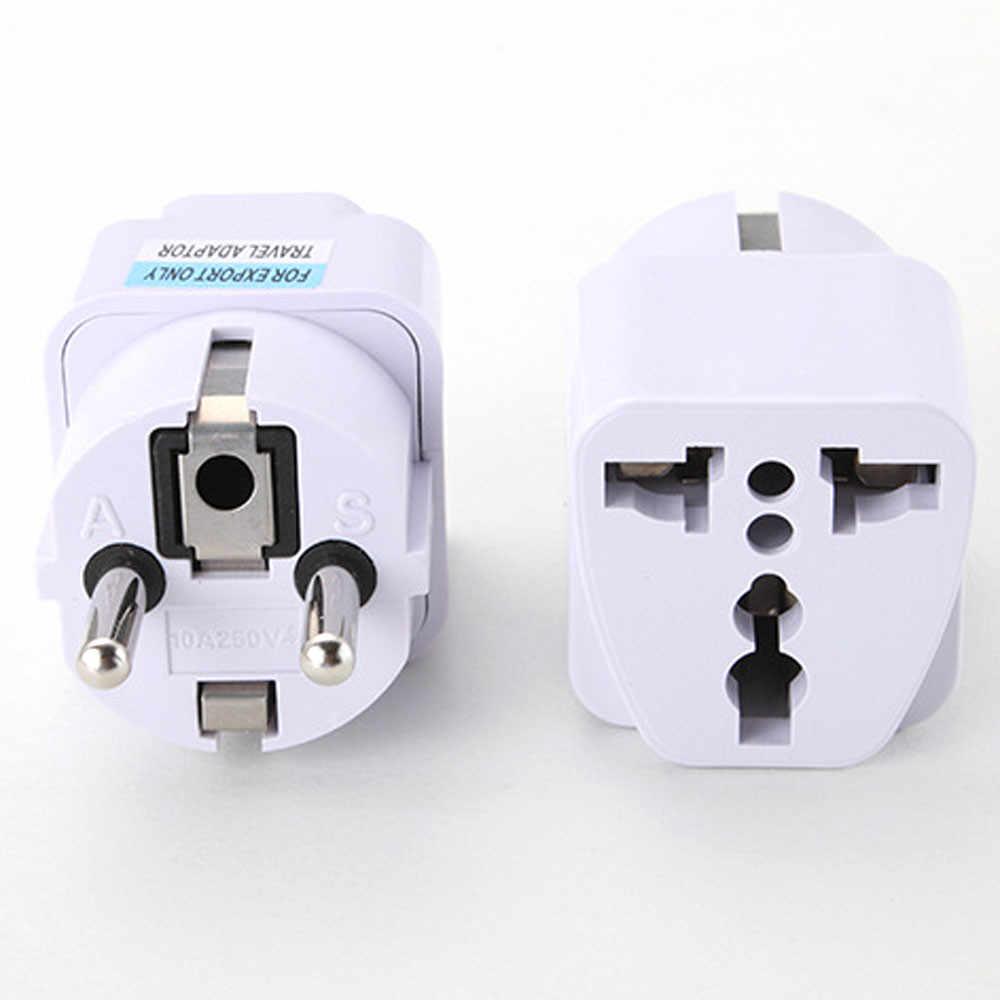 Mosunx New Arrival 2019 najlepsza cena uniwersalny UK US AU do ue zasilanie prądem zmiennym gniazdo wtyczki adapter ładowarka podróżna konwerter