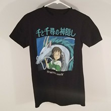 1991 hot inc Mens Spirited Away Studio Ghibli Miyazaki Anime Black T-Shirt Size S-3xl feyenoord billie eilish xxxtentacion(China)