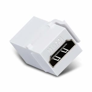 Image 2 - HDMI Keystone Jack 10 paquetes HDMI Keystone inserto adaptador hembra a hembra acoplador