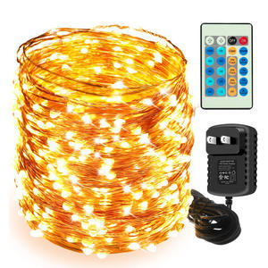 The longest LED String Lights 10m 20m 30m 50m 100m street garland Light Outdoor Christmas Fairy Lights Starry Light with Adapter