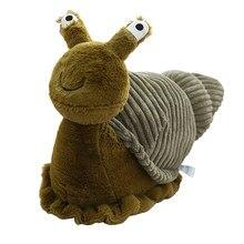 2020nova kawaii animal cruzamento de pelúcia bonito caracol boneca brinquedos peluche conforto animal travesseiro juguetes decoração para casa brinquedos do quarto do bebê