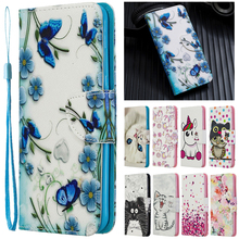 For Samsung Galaxy A40 Case Leather Case on sFor Coque Samsung A40 A 4