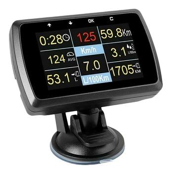 New A501C Multi Functional Smart Car OBD HUD Digital Meter Fault Code Alarm Display Head-Up Display