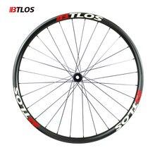 Asymmetric Novatec Hubs 29er Cross-country MTB carbon wheels - WM-i22A-9-N