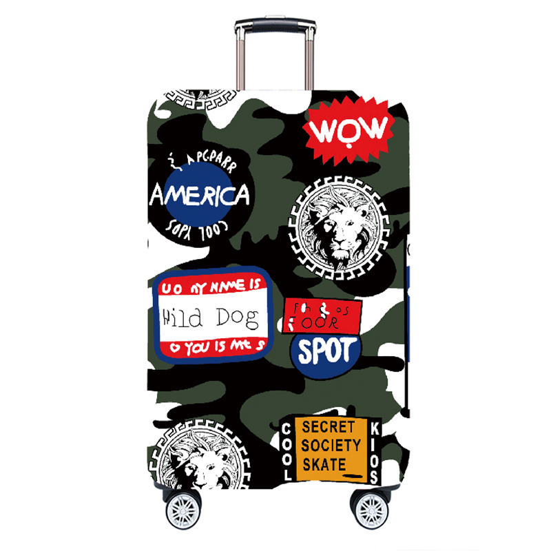 JULY'DOSAC Luggage Protective Cover Travel Suitcase Cover Elastic Dust Cases Travel Accessories For 18 To 32 Inches